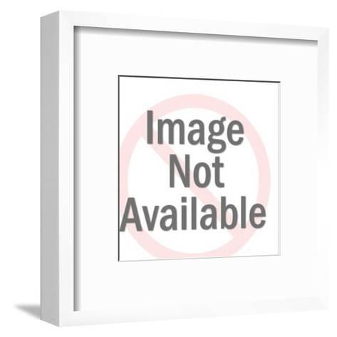 Walking Goose-Pop Ink - CSA Images-Framed Art Print