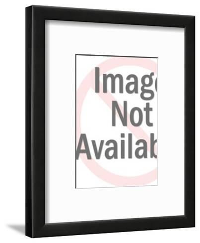 Grid Pick up Sticks-Pop Ink - CSA Images-Framed Art Print