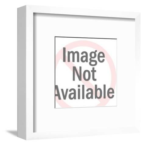 Orbit Diagram-Pop Ink - CSA Images-Framed Art Print