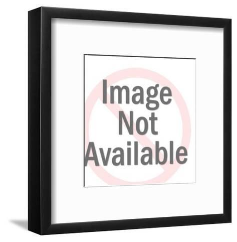 Man in Maze-Pop Ink - CSA Images-Framed Art Print