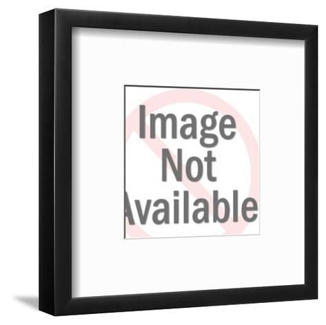 Fractured Circle-Pop Ink - CSA Images-Framed Art Print
