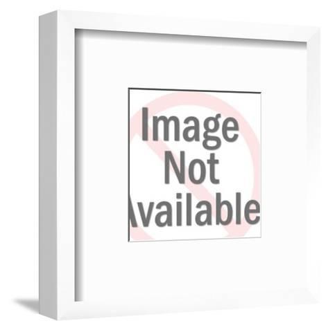 Flower Shape-Pop Ink - CSA Images-Framed Art Print