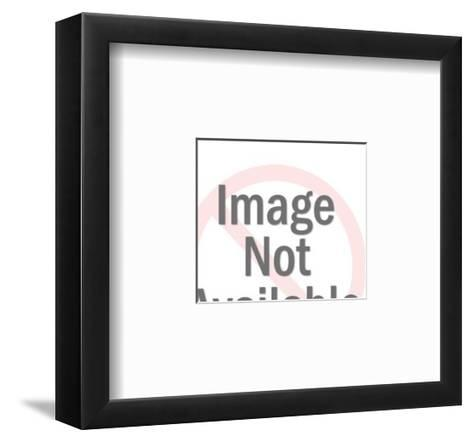 Blank Card on Plate-Pop Ink - CSA Images-Framed Art Print