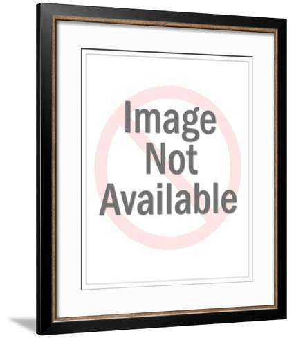 Man Kneeling-Pop Ink - CSA Images-Framed Art Print