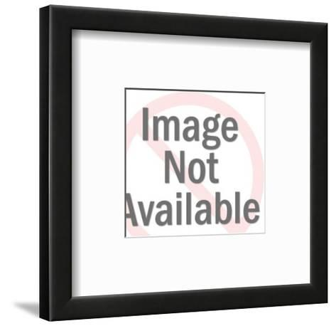 Water Skier-Pop Ink - CSA Images-Framed Art Print