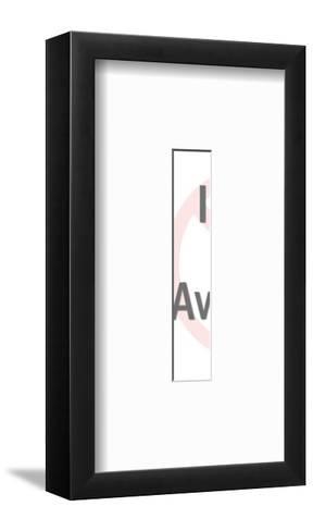 Syringe-Pop Ink - CSA Images-Framed Art Print