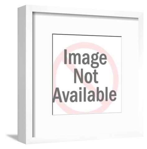 Rooster-Pop Ink - CSA Images-Framed Art Print