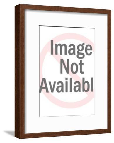 Flaming Heart-Pop Ink - CSA Images-Framed Art Print