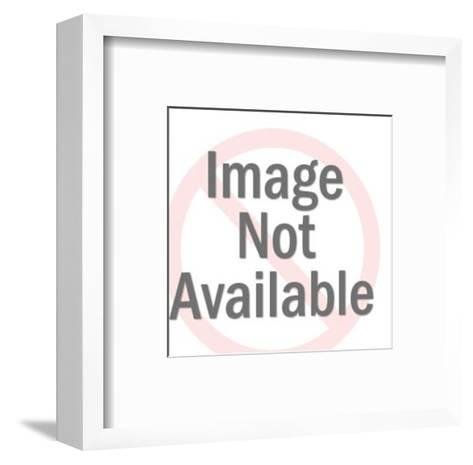Kangaroo-Pop Ink - CSA Images-Framed Art Print