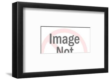 Truck with Hose-Pop Ink - CSA Images-Framed Art Print
