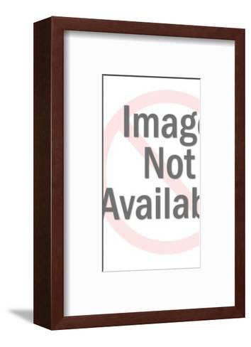 Heart Shaped Skeleton Key-Pop Ink - CSA Images-Framed Art Print