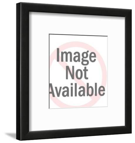 Big and Little Farmer-Pop Ink - CSA Images-Framed Art Print