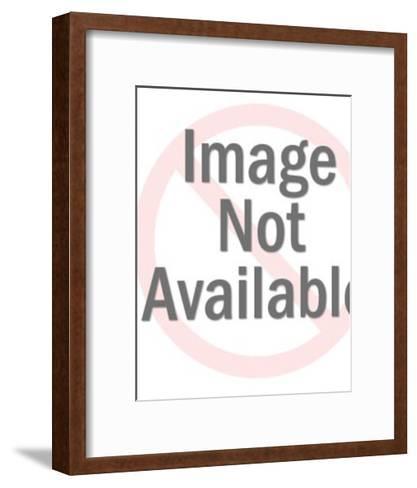 Naked Female Figure-Pop Ink - CSA Images-Framed Art Print