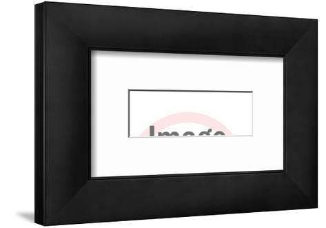 Car Silhouette-Pop Ink - CSA Images-Framed Art Print