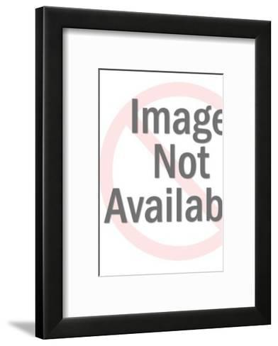 Man in Hat and Bow tie-Pop Ink - CSA Images-Framed Art Print