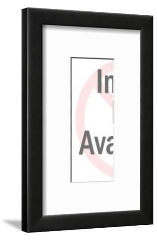 Heart Key-Pop Ink - CSA Images-Framed Art Print