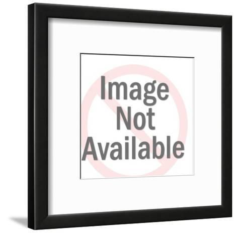 Blonde Woman With Pointed Ears-Pop Ink - CSA Images-Framed Art Print
