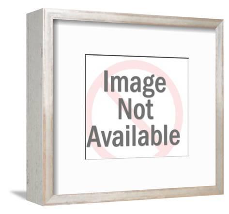 Profile of Blonde Mustache Man-Pop Ink - CSA Images-Framed Art Print