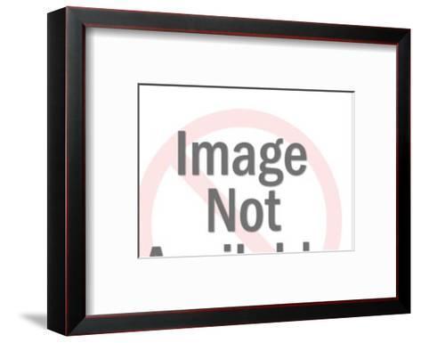 Bearded Artist Painting-Pop Ink - CSA Images-Framed Art Print