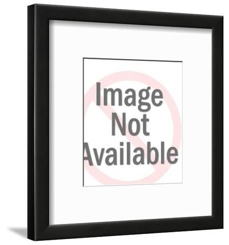 Shocked Woman Close-up-Pop Ink - CSA Images-Framed Art Print