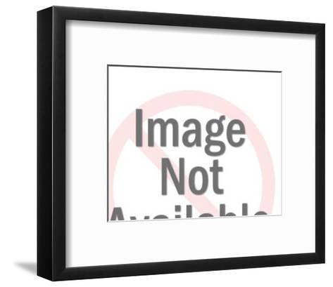 Man on Motorcycle-Pop Ink - CSA Images-Framed Art Print