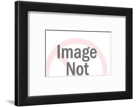 Worried Man With Big Hair-Pop Ink - CSA Images-Framed Art Print