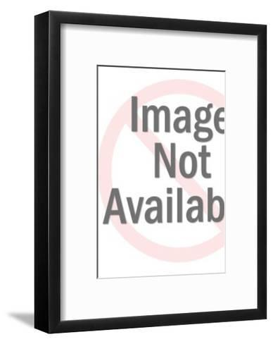 Man Grabbling Long Haired Woman From Behind-Pop Ink - CSA Images-Framed Art Print