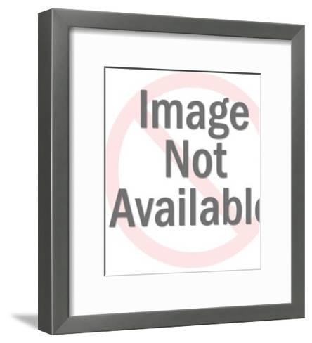 Couple Looking at Elderly Lady With Her Head Back-Pop Ink - CSA Images-Framed Art Print