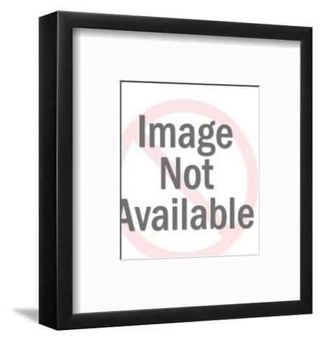 Man Being Attacked by Two Skeleton Men-Pop Ink - CSA Images-Framed Art Print