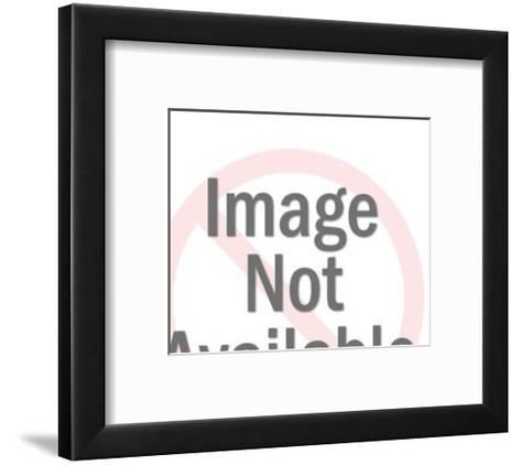 Young Man and Woman-Pop Ink - CSA Images-Framed Art Print