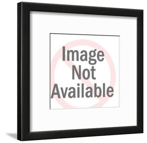 Woman and Man-Pop Ink - CSA Images-Framed Art Print