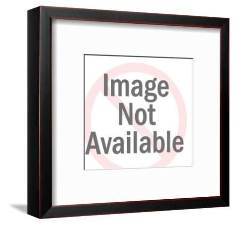 Elderly Lady With Young Couple-Pop Ink - CSA Images-Framed Art Print