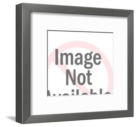 Elderly Woman Gesturing-Pop Ink - CSA Images-Framed Art Print