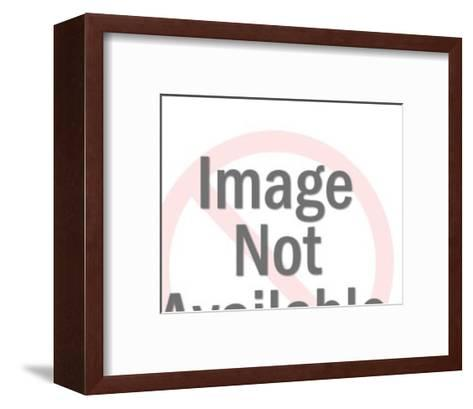Angry Older Man-Pop Ink - CSA Images-Framed Art Print