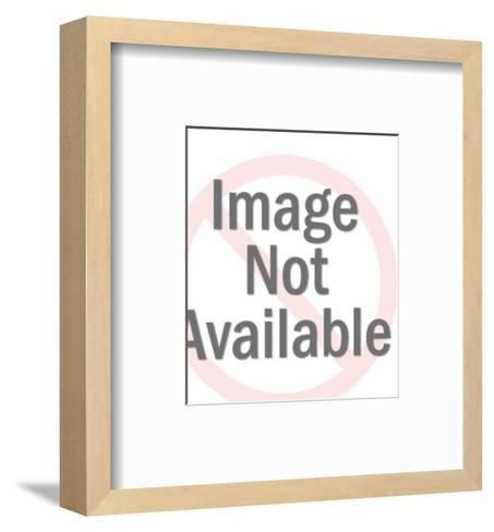 Dark Haired Woman Wearing Headband-Pop Ink - CSA Images-Framed Art Print