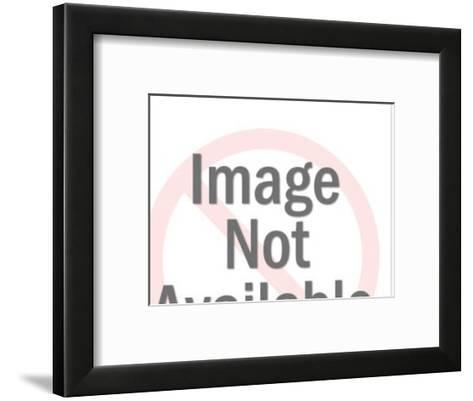 Man and Woman Looking at Each Other-Pop Ink - CSA Images-Framed Art Print