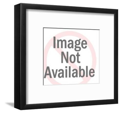 Couple Embracing and Looking Down-Pop Ink - CSA Images-Framed Art Print