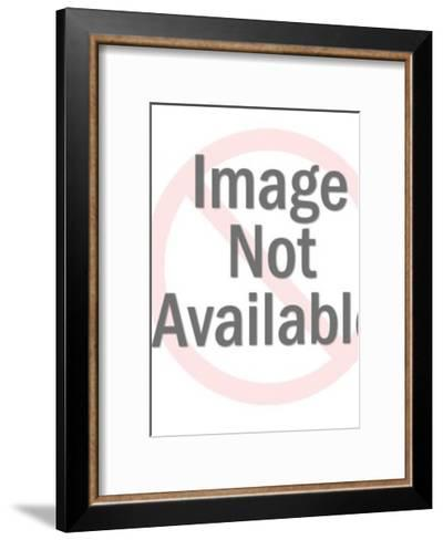 Bubble Pattern-Pop Ink - CSA Images-Framed Art Print