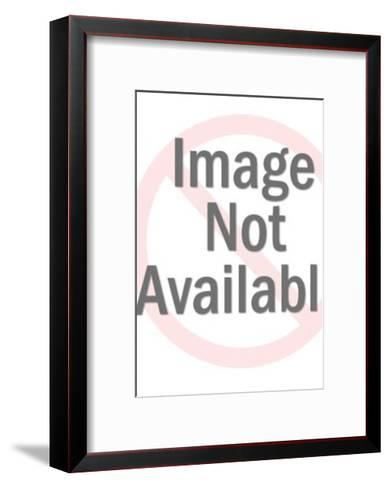Square and Rectangle Pattern-Pop Ink - CSA Images-Framed Art Print
