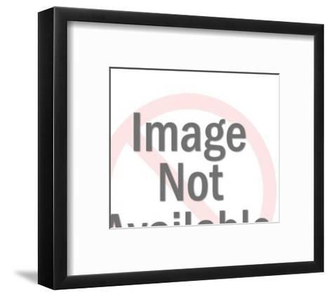 Mexican Man with Horse-Pop Ink - CSA Images-Framed Art Print