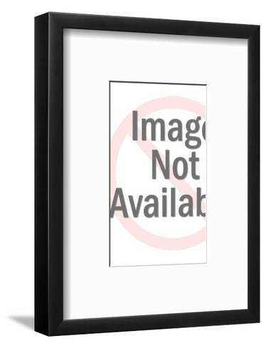 Angular Line Pattern-Pop Ink - CSA Images-Framed Art Print