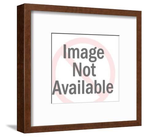 Close up of Woman-Pop Ink - CSA Images-Framed Art Print