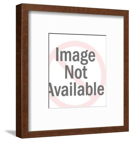 Eldery Bearded Man Reading-Pop Ink - CSA Images-Framed Art Print