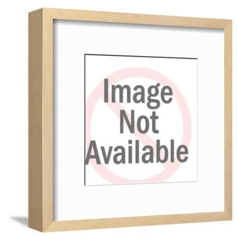 Organic Shape Pattern-Pop Ink - CSA Images-Framed Art Print