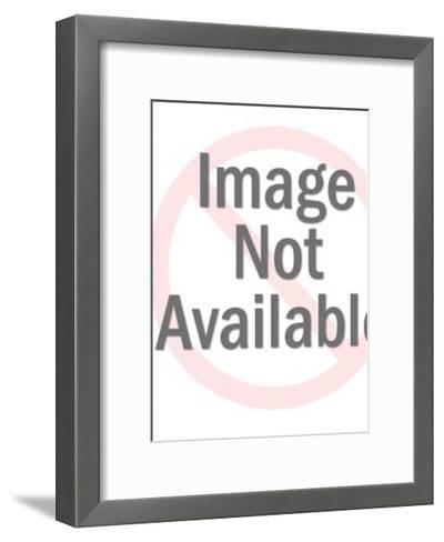 Bracket Pattern-Pop Ink - CSA Images-Framed Art Print