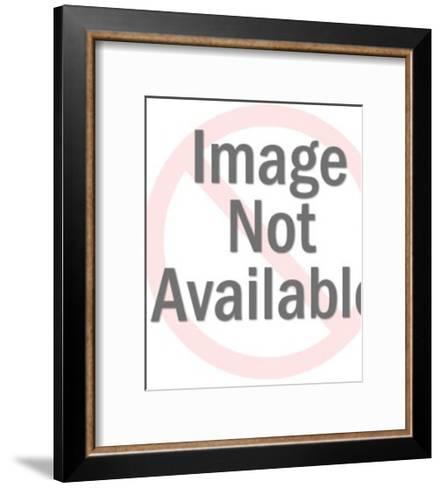 Small Honeycomb Pattern-Pop Ink - CSA Images-Framed Art Print