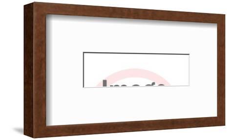 Shine-Pop Ink - CSA Images-Framed Art Print