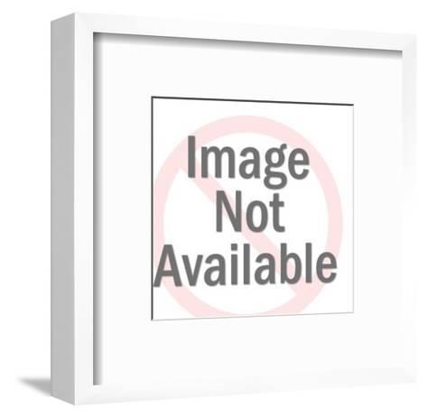 Starfish-Pop Ink - CSA Images-Framed Art Print