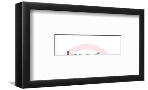 Texas-Pop Ink - CSA Images-Framed Art Print