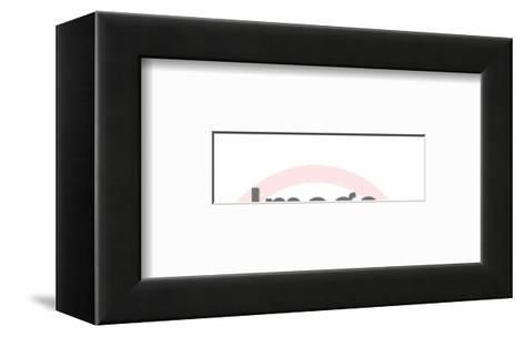 Little League-Pop Ink - CSA Images-Framed Art Print